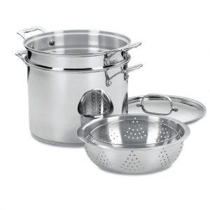 Cuisinart Pan, Lid, Strainer Set