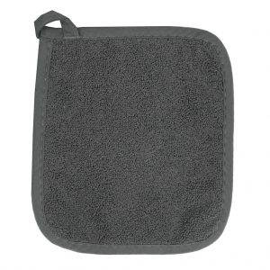 Cornucopia Kitchen Kirkwood Potholders - Graphite