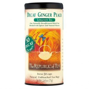 Decaf Ginger Peach Black Tea