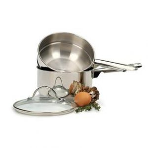 2 Qt. Stainless Steel Double Boiler