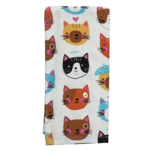 Cat Dish Towel