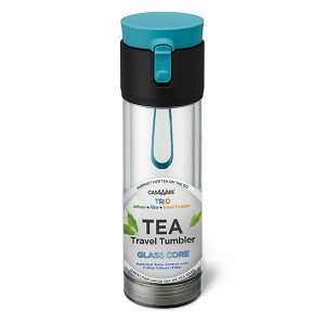Glass Core Tea Travel Tumbler
