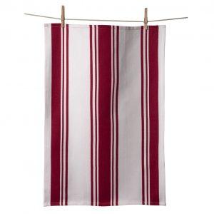 Center Band Kitchen Towels Cherry