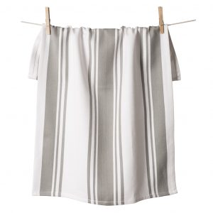 Center Band Kitchen Towels Drizzle
