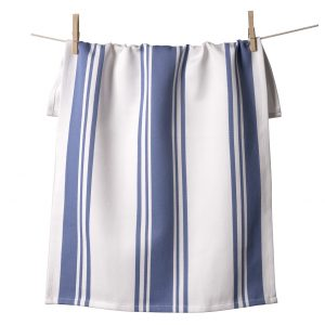 Center Band Kitchen Towels Periwinkle